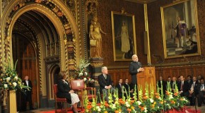 PM Narendra Modi addressing the British Parliament in Westminster, London