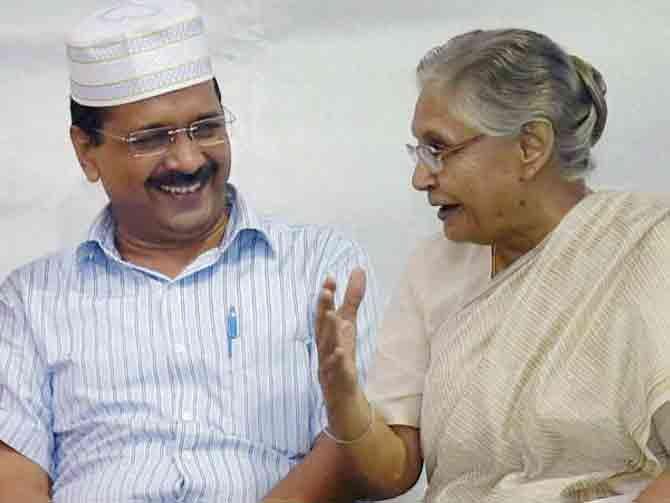 Arvind Kejariwal Shila Dixit