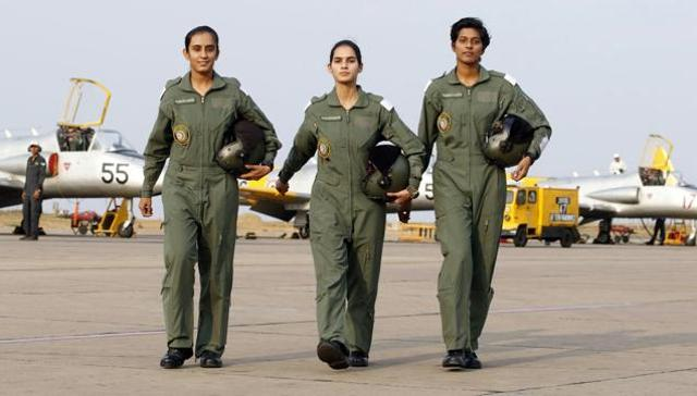 First Lady Fighter pilot