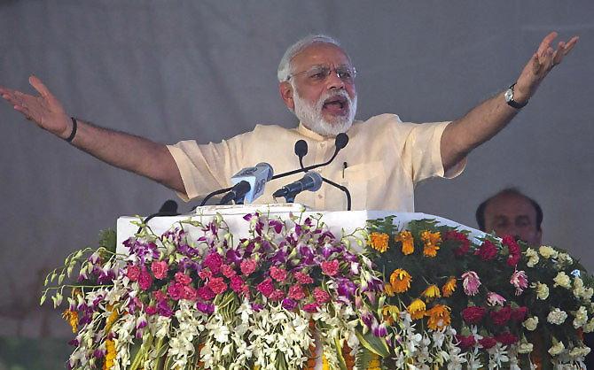 Narendra Modi Allahabad