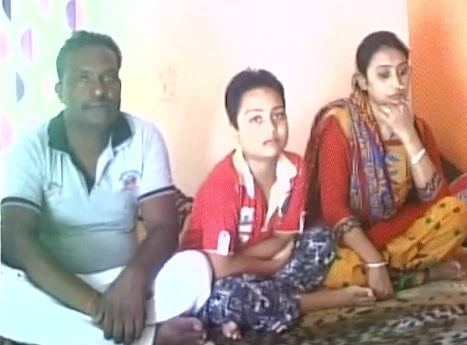 ansh upreti with parents