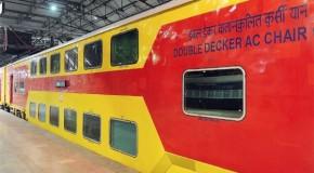 लखनऊ से जयपुर तक चलाई जाएगी डबल डेकर ट्रेन