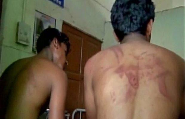 dalit beaten at beed