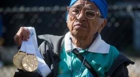 100 की उम्र में भारत की मन कौर ने जीते 3 गोल्ड मेडल