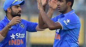 टी-20 की नई रैंकिंग मे टॉप 5 में अश्विन की वापसी, कोहली नंबर वन