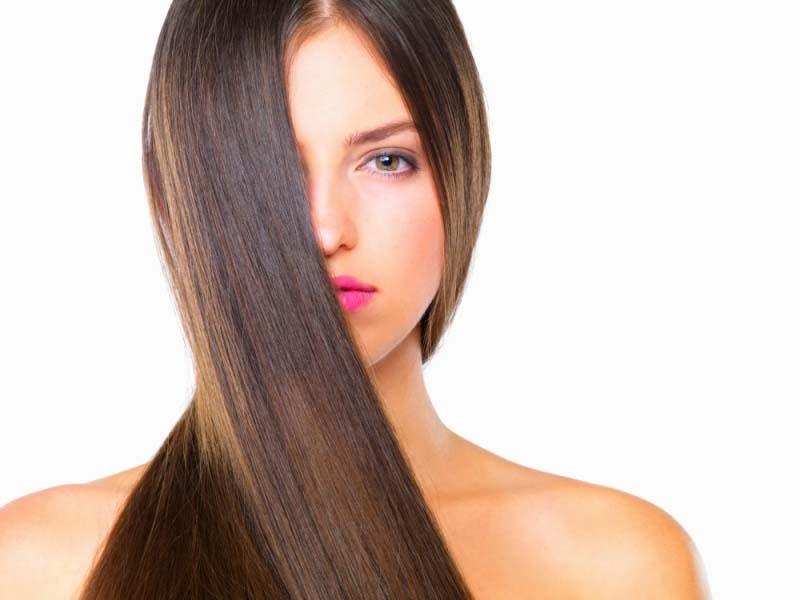 stret hair