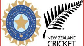 रांची एकदिवसीय: न्यूजीलैंड ने टॉस जीता, बल्लेबाजी का फैसला