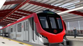 लखनऊ मेट्रो ट्रेन को दिया जा रहा, फाइनल टच