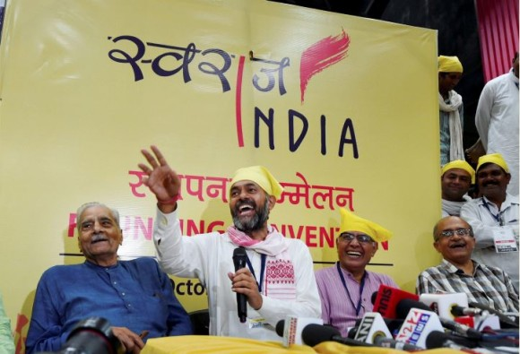 yogendra-yadav-swaraj-india