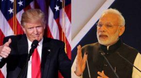 प्रधानमंत्री मोदी ने अमेरिका के नए राष्ट्रपति को भारत यात्रा का दिया न्योता