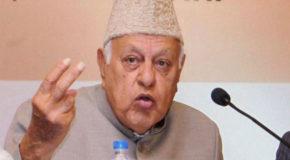 कश्मीर का हल बंदूक में नहीं बल्कि बातचीत में है- फारूक अब्दुल्ला