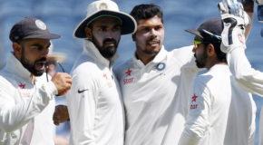 उमेश यादव, पहले क्रिकेट टेस्ट के पहले दिन, ऑस्ट्रेलिया के लिए बने मुसीबत